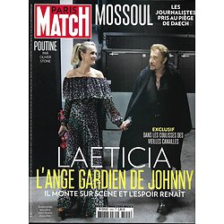 PARIS MATCH n°3554 29/06/2017  HALLYDAY/ MOSSOUL/ HOPKINS/ E.PHILIPPE/ POUTINE & O.STONE/ MANNING