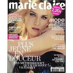 MARIE CLAIRE N°734 OCTOBRE 2013  DIANE KRUGER/ SPECIAL ACCESSOIRES/ COW-GIRLS/ DAHO/ TOKYO