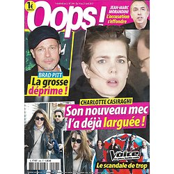 OOPS! n°244 14/04/2017 CASIRAGHI/ PITT/ THE VOICE/ KARDASHIAN/ MACRON/ SPEARS