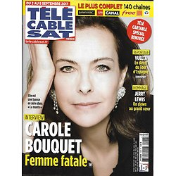 TELECABLE SAT n°1426 02/09/2017 CAROLE BOUQUET/ JERRY LEWIS/ THE STATE/ LAPIX/ UFA