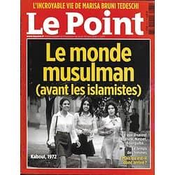 LE POINT N°2277 28/04/2016  LE MONDE MUSULMAN (AVANT LES ISLAMISTES)/ PRINCE/ BRUNI TEDESCHI/ ANTICANCER/ PIKETTY