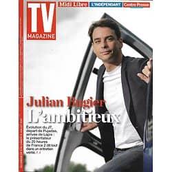 TV MAGAZINE N°22679 09/07/2017  JULIAN BUGIER/ NORMAN, CYPRIEN & NATTO/ NATATION