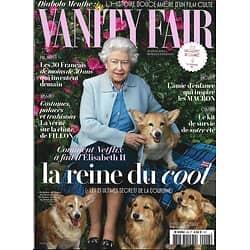 VANITY FAIR n°48 juillet 2017  ELIZABETH II, REINE DU COOL/ HOCKNEY/ LES MACRON & L'AUTISME/ BOURGI & LES COSTUMES DE FILLON