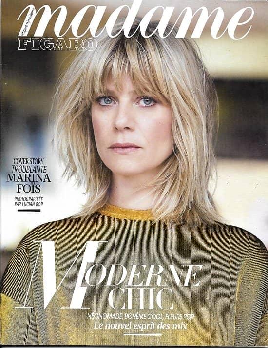 MADAME FIGARO n°22606 14/04/2017 MARINA FOIS/ BEART&NORDEY/ EDIE CAMPBELL/ KATEB/ KOONS