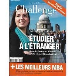 CHALLENGES n°524 1er juin 2017  ETUDIER A L'ETRANGER/ MEILLEURS MBA/ REFORME DU TRAVAIL/ DIPLOMATIE MACRON/ TOURISME D'AFFAIRES