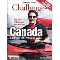 CHALLENGES N°529 6 JUILLET 2017  CANADA: COMMENT Y VIVENT LES FRANCAIS/ STATION F/ WHIRPOOL/ BLABLACAR
