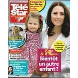 TELE STAR N°2131 05/08/2017  KATE&WILLIAM/ DEMAIN NOUS APPARTIENT-CHAUVIN/ JENIFER/ BOLT