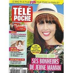 """TELE POCHE n°2686 05/08/2017  Nolwenn Leroy/ Voix françaises de """"Cars 3""""/ """"Plus belle la vie""""/ Mode tatouage"""