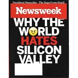 NEWSWEEK VOL.166 N°23 17 juin 2016  Pourquoi la Silicon Valley  est-elle détestée?/ M.Ali/ SPORT/ Politiques & Vérité