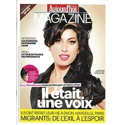 AUJOURD'HUI EN FRANCE MAGAZINE n°4979 03/07/2015  Amy Winehouse/ Immigration/ Sauver les abeilles/ Tour de France & Présidents