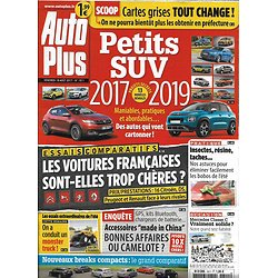 AUTO PLUS n°1511 18 AOUT 2017 PETITS SUV/ MADE IN CHINA/ FRANCAISES TROP CHERES?