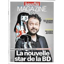 AUJOURD'HUI EN FRANCE MAGAZINE n°5182 22/01/2016  SATTOUF/ SPECIAL BD/ L'OREAL/ JIHAD & TRAFICS