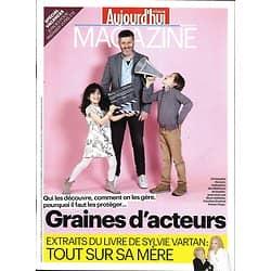 AUJOURD'HUI EN FRANCE MAGAZINE n°5273 22/04/2016  GRAINES D'ACTEURS/ VARTAN/ SPECIAL EVASION/ TOTAL-MARGERIE