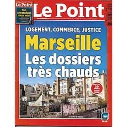 LE POINT N°2304 03/11/2016  SPECIAL MARSEILLE/ C'ETAIT MIEUX AVANT?/ REVENU UNIVERSEL/ MONTEBOURG