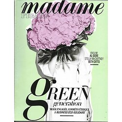 MADAME FIGARO N°22665 23/06/2017  GREEN GENERATION/ McCARTNEY& DITTO/ AL GORE