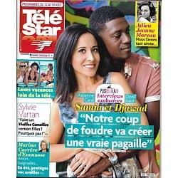 TELE STAR n°2132 12/08/2017  CARAT&BAIOT-PLUS BELLE LA VIE/ MOREAU/ VARTAN/ VACANCES DE STARS