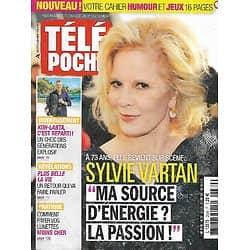 """TELE POCHE n°2689 26/08/2017  Sylvie Vartan revient sur scène/ """"Koh-Lanta Fidji""""/ Orson Welles/ Le périph' parisien"""
