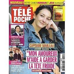 "TELE POCHE n°2694 30/09/2017  Corinne Masiero ""Capitaine Marleau""/ Stéphane Bern/ Laurent Gerra/ Fanny Agostini"