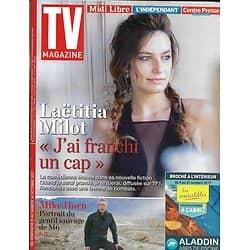 TV MAGAZINE n°22756 08/10/2017  Milot/ Mike Horn/ Canteloup/ Marie Drucker/ Yoka/ Jouannet-Contact