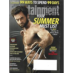 ENTERTAINMENT WEEKLY n°1261-1262 31 mai 2013  Wolverine-Hugh jackman/ Woodley/ Munn/ Suits/ Summer list