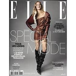 ELLE n°3740 25/08/2017 Spécial mode/ Vanessa Axente/ Chiuri-Dior/ Humanitaire au Nigéria