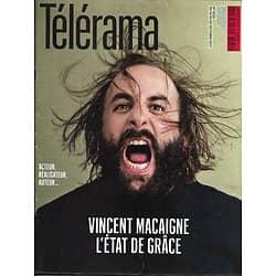 TELERAMA n°3535 14/10/2017  Vincent Macaigne/ Ecrivains français/ Delahousse/ Chrétiens d'Orient