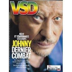 VSD n°2100 22/11/2017  Johnny Hallyday/ Nucléaire/ Hulot/ Lavilliers/ Gélada/ Loeb/ Calendrier Pirelli