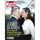 PARIS MATCH n°3570 19/10/2017  Affaire Weinstein/ Menace nucléaire/ Raqqa/ Océan/ Tatiana Silva