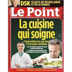 LE POINT n°2180 26/06/2014  La Cuisine qui soigne/ DSK/ Le scandale Ecotaxe/ Medvedev & Poutine/ Islam radical
