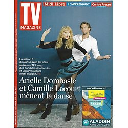TV MAGAZINE n°22762 15/10/2017  Dombasle & Lacourt-Danse avec les stars/ Vignali/ Nina
