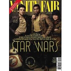 VANITY FAIR n°52 novembre 2017  Star Wars: Isaac, Boyega & K.M.Tran/ Jeremy Irons/ Pissaro/ Meyer/ Streisand