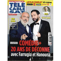 TELECABLE SAT HEBDO n°1436 11/11/2017  Comédie+ Farrugia & Hanouna/ Thierry Marx/ Claws