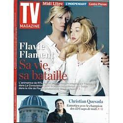 TV MAGAZINE n°22780 05/11/2017  Flament & L.Gable/ Quesada/ Cordula/ 30 ans de TV Magazine