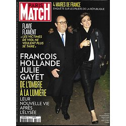 PARIS MATCH n°3571 26/10/2017  Hollande & Gayet/ F.Flament/ Maires de France/ Affaire Grégory/ Mafia Malte