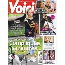 VOICI n°1560 29/09/2017  Lefébure/ Gossuin/ Harry&Meghan/ Pokora/ Adjani/ Hulot/ Kardashian