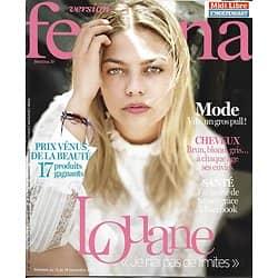 VERSION FEMINA n°815 13/11/2017  Louane Emera/ Etrurie/ Crises d'angoisse/ Pulls/ Prix beauté