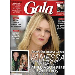 GALA n°1269 04/10/2017 Vanessa Paradis/ Melania Trump/ Raphaël/ Monroe/ Etam/ Chirac