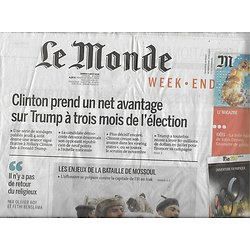 LE MONDE n°22258 06/08/2016  Bataille de Mossoul/ J.O. Brésil/ K.Dick/ Céline/ Jamal
