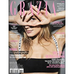 GRAZIA n°415 29/09/2017  Ana Girardot/ Spécial Paris/ Instagram mode/ Lieko Shiga/ Vuitton
