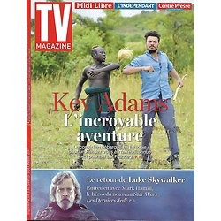 TV MAGAZINE n°22802 03/12/2017  Kev Adams/ Mark Hamill-Skywalker/ Lemercier/ Froggartt/ Semoun/ Froggartt/ Lacarrau
