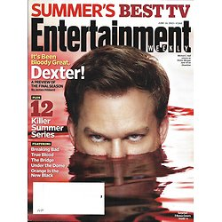 ENTERTAINMENT WEEKLY n°1263 14/06/2013  Summer series: Dexter, Breaking Bad, The bridge, True Blood, Game of thrones
