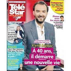 TELE STAR n°2145 11/11/2017  Cyril Lignac/ Chazal/ Un village français/ Ournac/ NCIS/ Argento