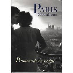 """""""Paris & banlieue: promenade en poésie""""/ Livre relié format in-8"""