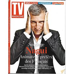 TV MAGAZINE n°22820 24/12/2017  Nagui/ Animateurs préférés des français/ Ithurburu