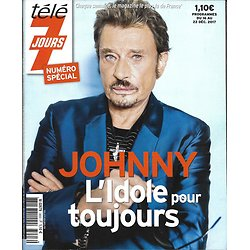 "TELE 7 JOURS n°3003 16/12/2017  Johnny Hallyday, n° spécial/ Miss France/ Julien Doré/ ""Love actually"""