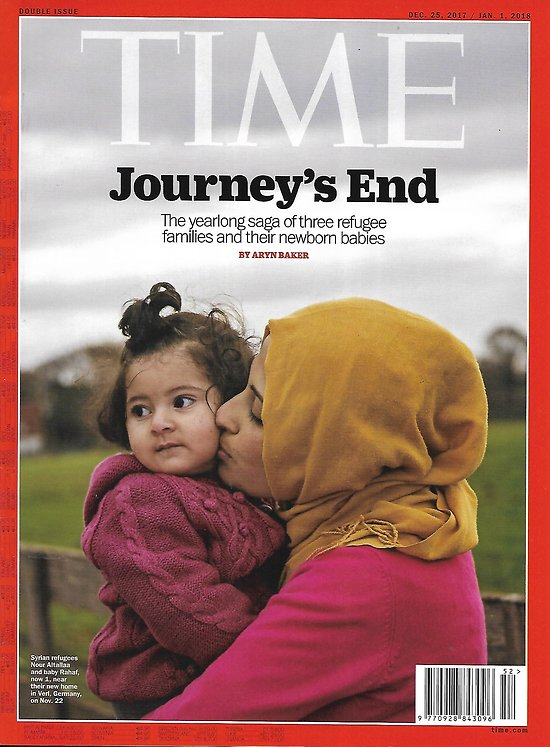 TIME VOL.190 n°27&28 25/12/2017  The year ahead 2018: power, innovation & culture/ Europe's migrant crisis