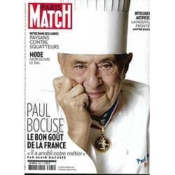 PARIS MATCH n°3585 25/01/2018  Paul Bocuse/ Notre-Dame-des-Landes/ Intelligence artificielle/ Hugh Jackman