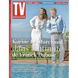 """TV MAGAZINE n°22854 04/02/2018  Franck Dubosc & Le Marchand/ Daphné Bürki/ """"Les bracelets rouges"""""""