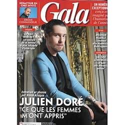 GALA n°1288 14/02/2018   Julien Doré/ Jérôme Commandeur/ Valérie Lemercier/ Meghan Markle/ Oprah Winfrey