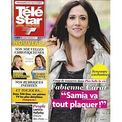 TELE STAR n°2157 03/02/2018  Fabienne Carat/ Laeticia Hallyday/ Les Tuche/ Camille Lou/ Beaugrand/ Busnel/ Timsit